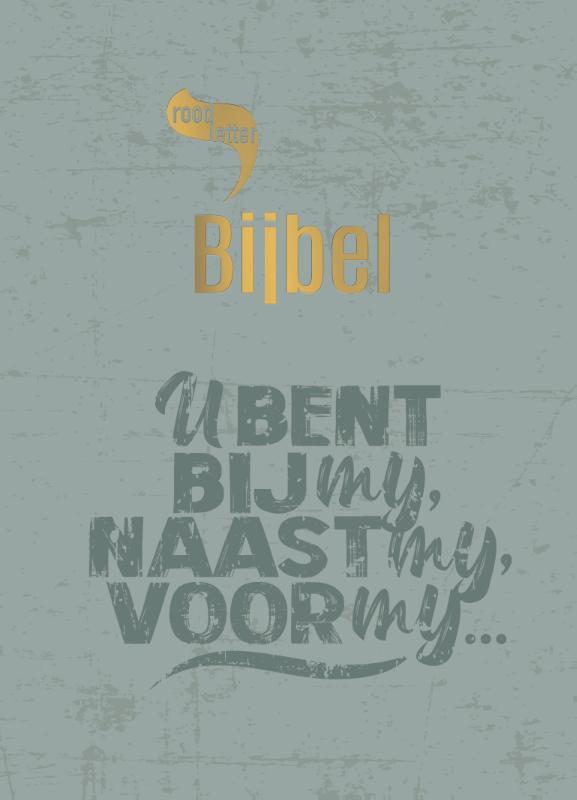 RoodletterBijbel - design quote