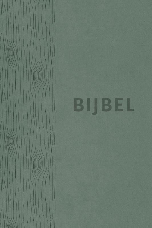 Bijbel (HSV) - vivella groen met duimgrepen